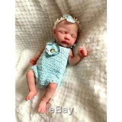 Full Body Mini Silicone Baby Girl Drink And Wet Isla by Jennie Lee