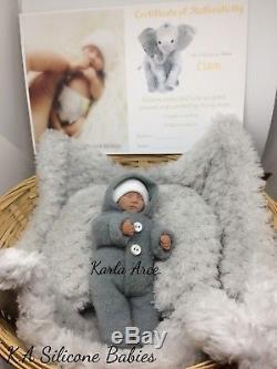 Full Body Mini silicone baby Boy Liam