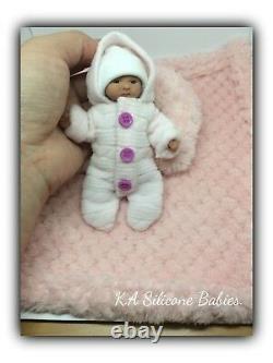 Full Body Mini silicone baby Girl Jasmine