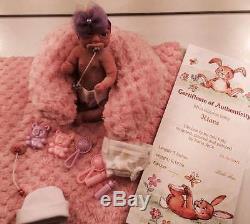 Full Body Mini silicone baby Girl Kiara