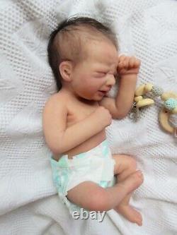 Full Body SOFT ECOFLEX SILICONE Doll POLETTE by NOEMI ROARKS Baby GIRL