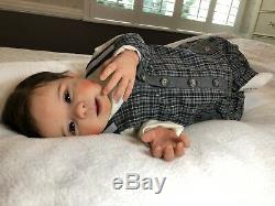 Full Body Silicone Baby Boy Ecoflex 20