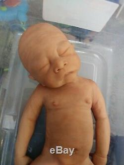 Full Body Silicone Baby Doll Peanut Limited Edition