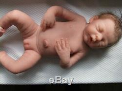 Full Body Silicone Baby Doll Rose by Evelina Wosnjuk