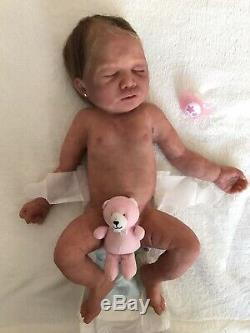 Full Body Silicone Baby Girl Sira By Monica Parres