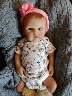 Full Body Silicone Baby Lonnie Sculpted By Bonnie Sieben Molded And Casted By