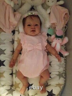 Full Body Silicone Baby Sienna by Tatyana Burden