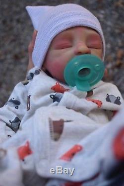 Full Body Silicone BooBoo Baby Boy Anthony by Dawn Bowie