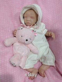 Full Body Silicone Newborn Preemie Baby Girl Taylor by Melissa McCrory Eco 20