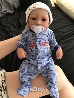 Full Body Silicone Reborn Baby Boy Doll