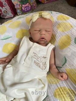 Full Body Silicone Reborn Girl Annelene By Maisa Said