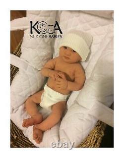 Full Body Silicone baby Boy Presley (13Inches)