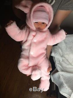 Full Body Silicone baby Girl Fiona (15 Inches)