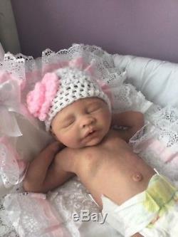 Full Body Soft Silicone Ecoflex Reborn Baby Girl NEW PHOTOS ADDED