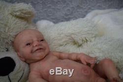 Full Body Soft Solid Boy PREMATURE 15 Silicone Baby doll/REBORN SILICONA