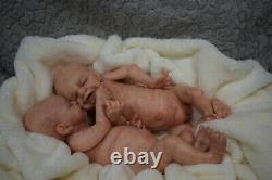 Full Body Soft Solid (PREMATURE 15) Silicone Baby doll / REBORN