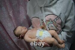 Full Body Soft Solid boy or girl PREMATUR15Silicone Baby doll/REBORN SILICONA