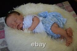 Full Body Soft Solid girl PREMATUR16Silicone Baby doll/REBORN