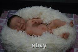 Full Body Soft Solid girl or boy PREMATUR16Silicone Baby doll/REBORN SILICONA