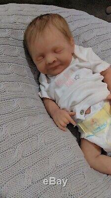 Full Body ecoflex Silicone Baby Girl Art Doll