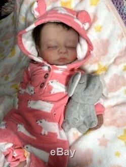 Full Body silicone Baby Girl Charlie Realistic Newborn Baby Doll Lifelike