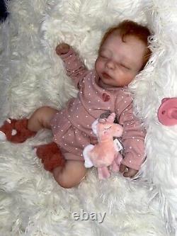 Full Body silicone doll baby Girl Charlie By Artist Debra Timko