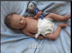 Full bodied silicone preemie baby