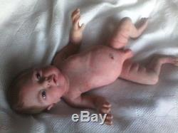 Full bodied solid silicone baby boy Liam by Elena Westbrook(NEW PHOTOS)
