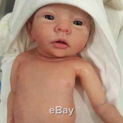 Full body BOY silicone baby CHARLIE by ELENA WESTBROOK newborn marshmallow soft