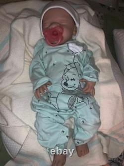 Full body Reborn silicone anatomically correct baby girl 7lbs