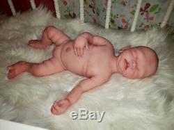 Full body Silicone Baby Girl 17 Newborn stunning custom
