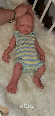 Full body Silicone Baby boy 17 Newborn stunning