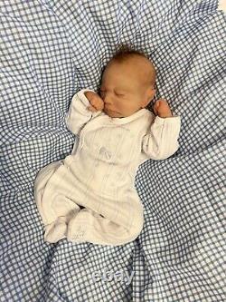 Full body silicone baby Boy 4lbs 4oz