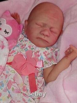 Full body silicone baby Doll girl Zoe ready to ship