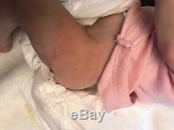 Full body silicone baby. Drink Wet And Armatures