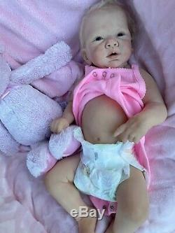 Full body silicone baby Leeza By Michelle Fegan