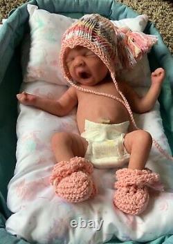 Full body silicone baby girl Ava