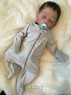 Full body solid silicone baby boy doll Forest #2