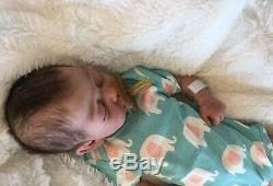 Full body solid silicone reborn newborn baby girl doll Summer