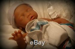 Full solid body silicone reborn baby doll anatomically girl 18 custom made SALE