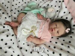 GORGEOUS Full Body SILICONE Baby GIRL Doll HOPE by LORRAINNE YOPHI