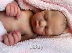 GORGEOUS Full Body SOLID SILICONE Baby GIRL Doll MIMI by MAISA SAID Preemie