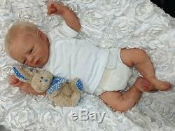 GORGEOUS Full Body Silicone Newborn Baby Boy Beto by Alejandra de Zuniga
