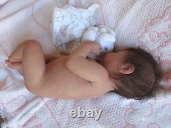 GORGEOUS Full body SILICONE Doll- MEMPHIS by NOEMI ROARKS- Baby GIRL