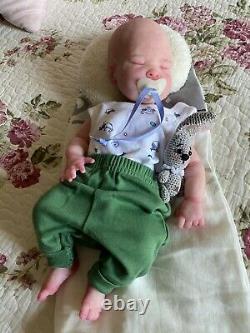 Gorgeous 16 Full Body Silicone Baby Boy with COA