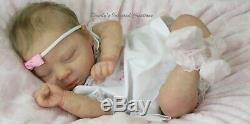 Gorgeous Newborn Reborn Baby Girl Luciano By Cassie Brace Limited Edition