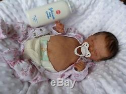 HANLEY reborn doll limited edition baby birdie laura lee Eagles pro artist GHSP