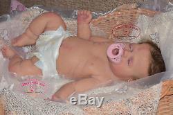 Handmade Sleeping silicone baby toddler girl (Reborn doll) all body Drink & pee
