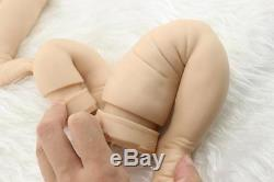 Hot Full Solid Soft Silicone Handmade Kit DIY Kits for Reborn Baby Lifelike Doll