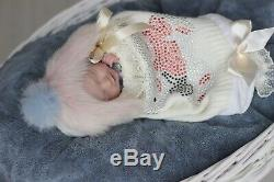 IIORA PROTOTYPE artist 24 week Micro Preemie Reborn Doll Handmade LAYETTE